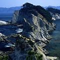 浄土ヶ浜の奇岩