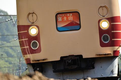 Photos: 189系「ホリデー快速富士山」