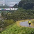 写真: ジョギング