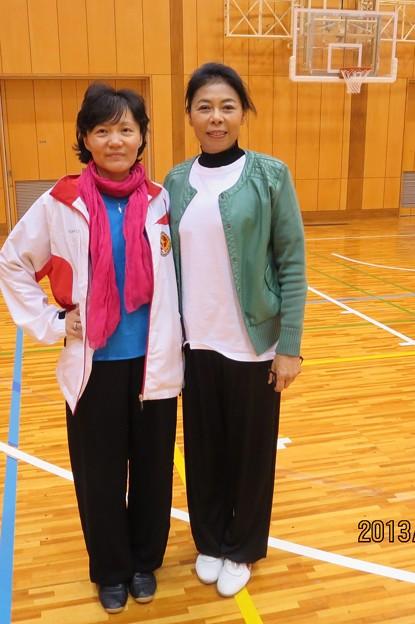 恩師  李徳印先生、夫人方先生、娘さん李〓先生と一緒に撮るの写真3