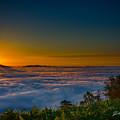 Photos: 雲海と 御来光