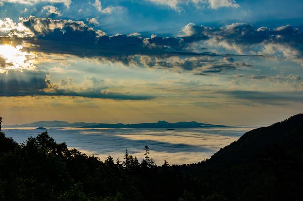 陽光の雲海