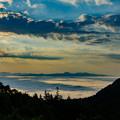 写真: 陽光の雲海