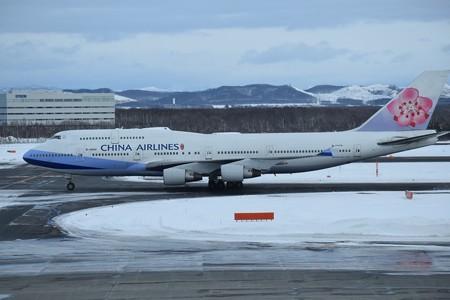 Boeing 747-400 チャイナエアライン B-18202
