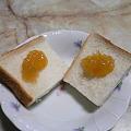 Photos: 自家製柚子ジャムとパン
