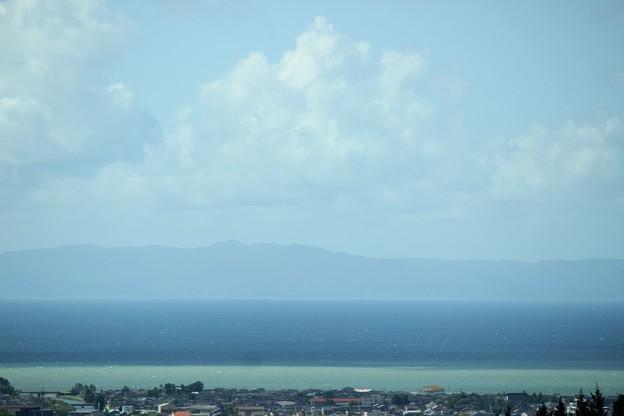 嵐の後の海