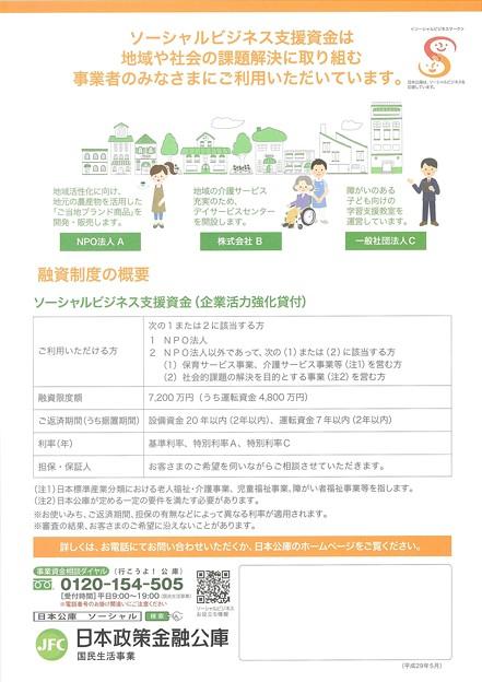 ソーシャルビジネス支援資金2