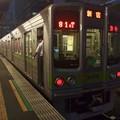Photos: 京王新線笹塚駅3番線 都営10-270F急行新線新宿行き停止位置よし