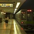 京王新線初台駅2番線 都営10-280F区急本八幡行き前方確認