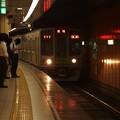 都営新宿線浜町駅1番線 都営10-270F各停笹塚行き進入