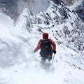 写真: 復路8峰下り3