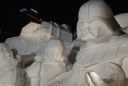 雪のスターウォーズ2