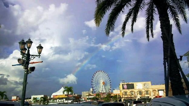 ここも虹の目撃率高いな