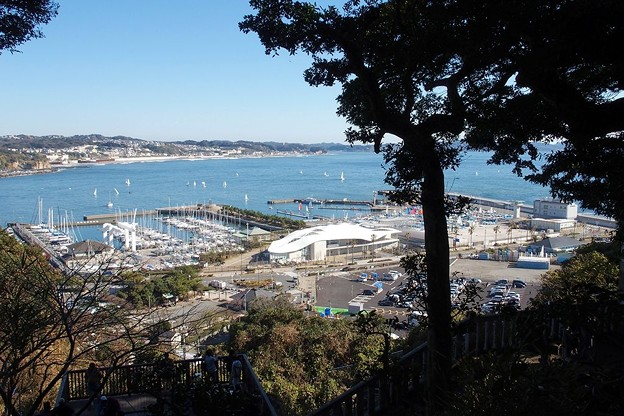 江の島からの眺望
