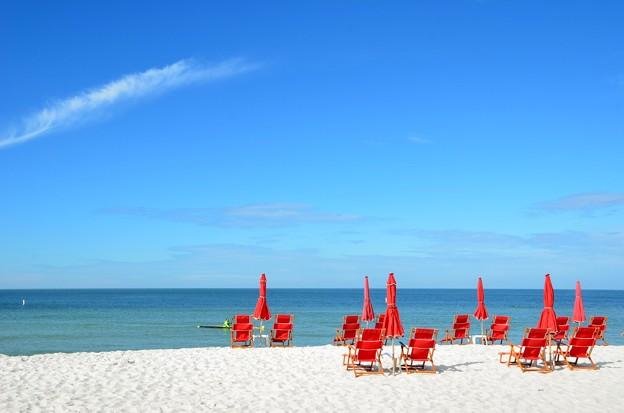 Red Beach Chairs 11-26-17