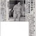 写真: 20141030 逸ノ城、体調面を考慮 当面出稽古せず