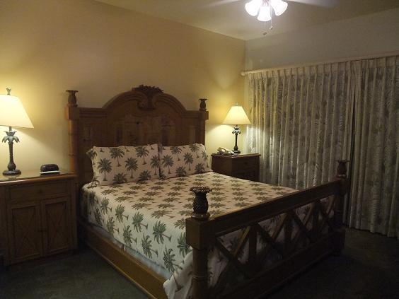 ハワイ島 コナコーストリゾートベッドルーム