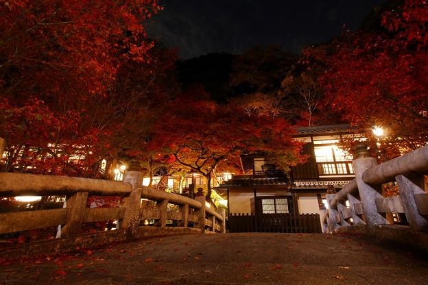 紅葉の旅館