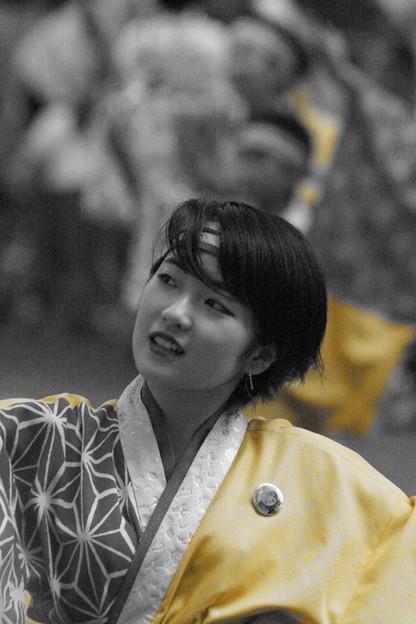夏の舞姫は、黄色がお似合い