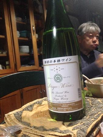 わざわざ私の好きなワインを取り寄せてもらいました(マリン父サンキュー!)