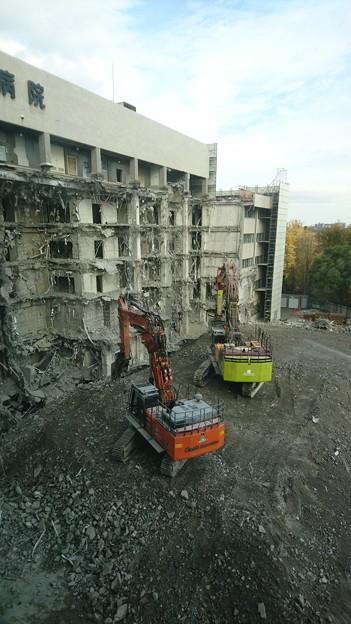 病院の解体工事03