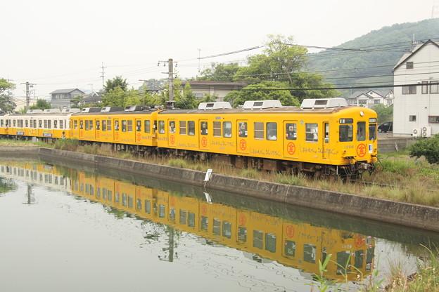 琴電1200形(こんぴら塗装)