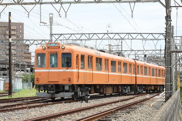 モト94・96+養老鉄道600系(ラビットカー)