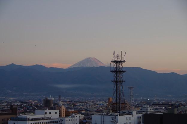 天守台から見る富士山
