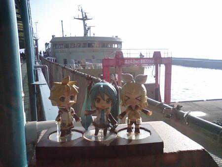 リン:「鴨池港上陸すた!!」 レン:「なんか、与次郎のゲーセン行く...