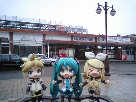 レン:「伊集院駅に到着でーす!」 雪だよ雪! リン:「伊集院光さん...