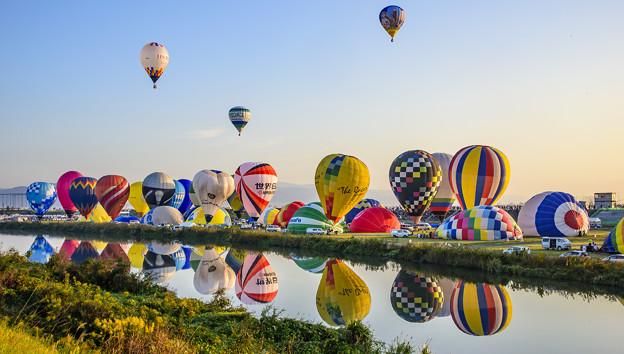 写真: 佐賀熱氣球