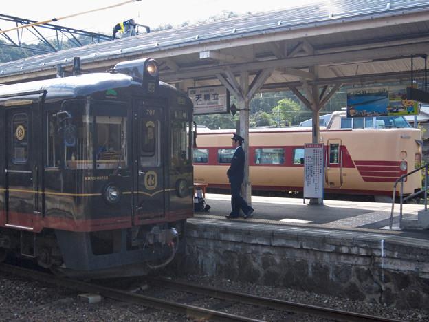 国鉄381系+くろまつ