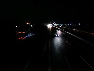 東北道の照明真っ暗だ~! ...