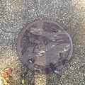 静岡県清水市のマンホール012