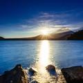 写真: 太陽への道