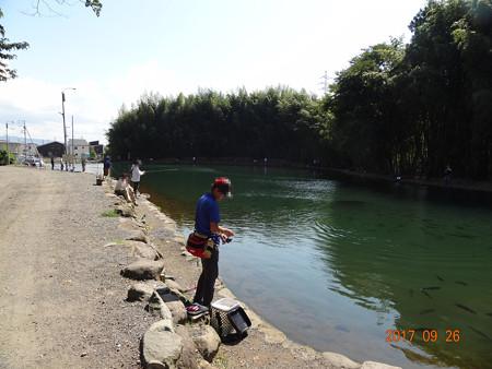 東山湖のオープンはまだだったのですそのFPでわっしょーい^^