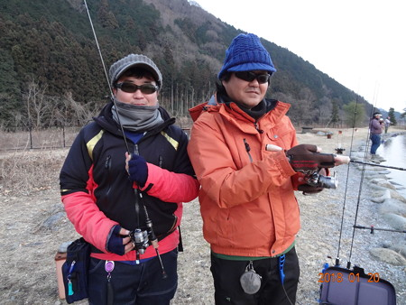 Y川君と友釣り in 大芦川