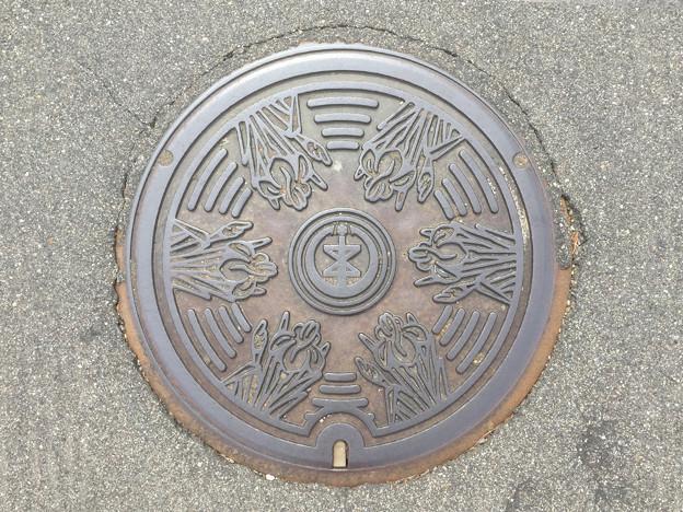 マンホール 新潟県新潟市旧味方村3 新潟市バージョン