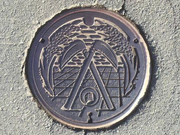 マンホール 長野県信濃町 古間地区