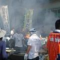写真: 目黒なう。目黒のさんま祭り初めて~暑いし熱い~