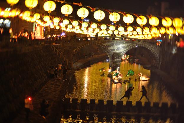 写真: めがね橋、十人十色。