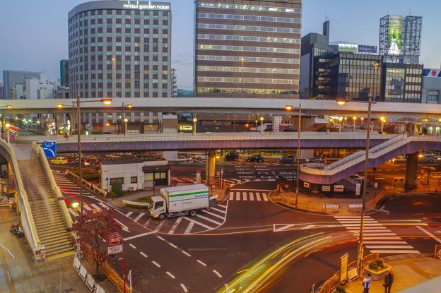 写真: 上野駅前