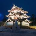 写真: 弘前城