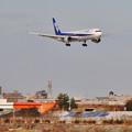 Photos: ANA 富山キトキト空港に着陸態勢