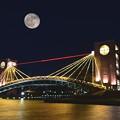 富岸運河環水公園(合成写真) 4211