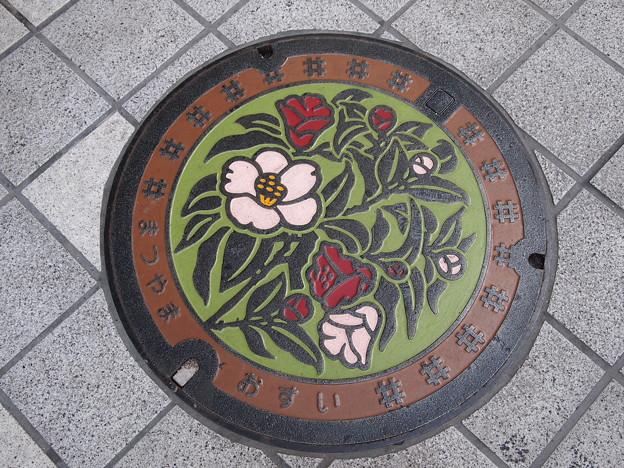 松山のマンホール