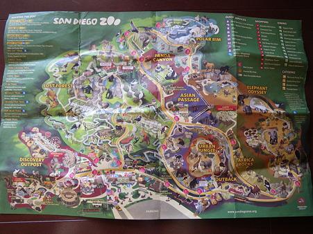 無料園内マップ