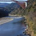 穏やかな五ヶ瀬川