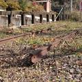 写真: 槙峰駅跡
