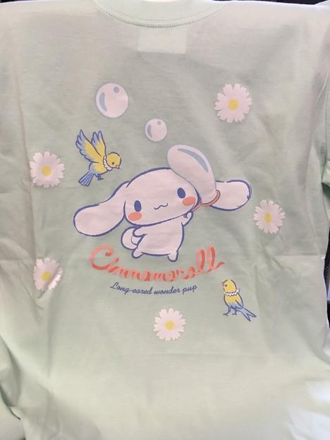 シナモロール 大人キャラTシャツ(小鳥)